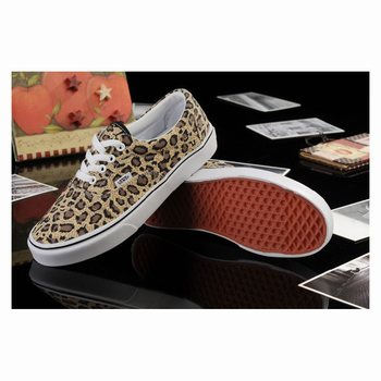 Vans Leopard Authentic Brown