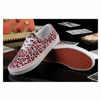 Vans Leopard Authentic Pink