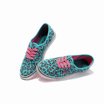 Vans Authentic Leopard Blue