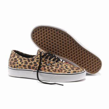 Vans Leopard Authentic