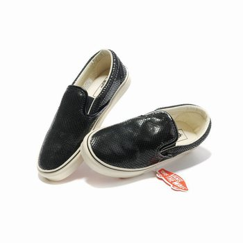 Vans Snakeskin Veins Slip-On Black