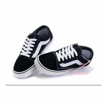 Vans Suede N Canvas Old Skool Black-White