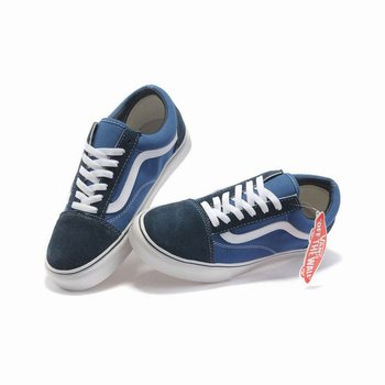 Vans Suede N Canvas Old Skool Blue