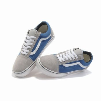 Vans Suede N Canvas Old Skool Blue-Grey