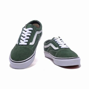 Vans Suede N Canvas Old Skool Green