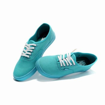 Womens Vans Canvas Authentic Scuba Blue