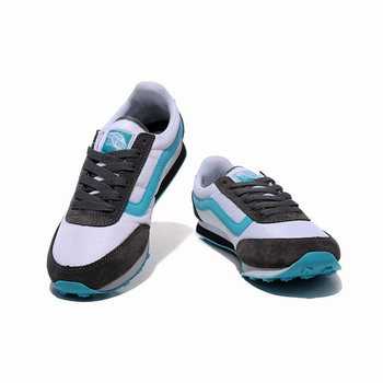 Womens Vans Running Shoes Brown-Skyblue