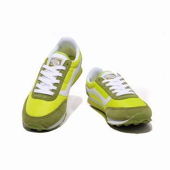 Womens Vans Running Shoes Grass green