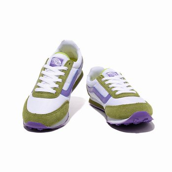Womens Vans Running Shoes Green-Purple