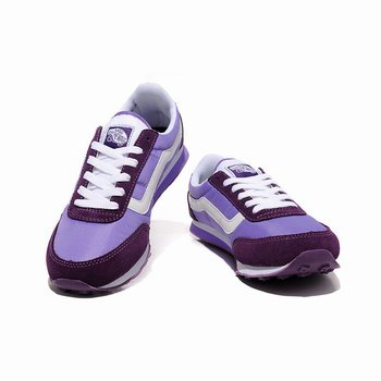 Womens Vans Running Shoes Purple