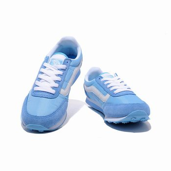 Womens Vans Running Shoes Skyblue